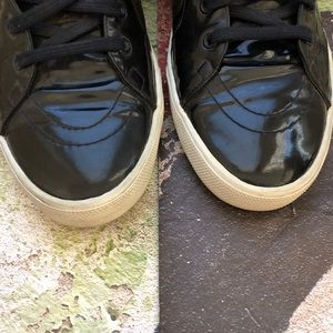 302fad494bc Yves Saint Laurent Shoes - Authentic! YSL Rolling High-Top Sneakers Navy  Blue